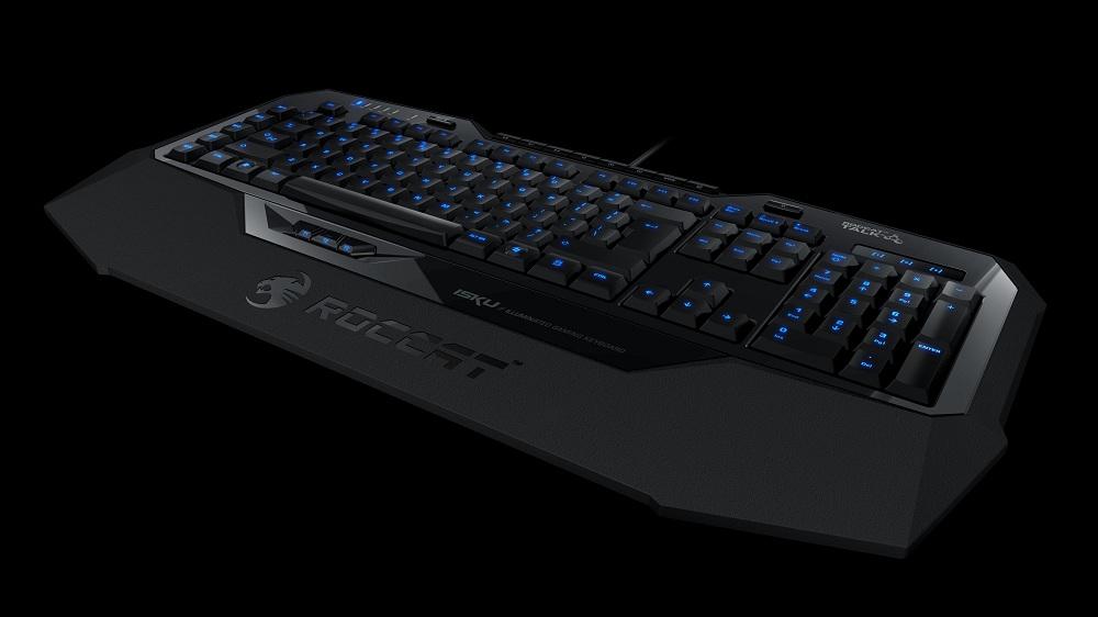 Roccat Isku, un clavier qu'il sent bon le hardcore gaming ...